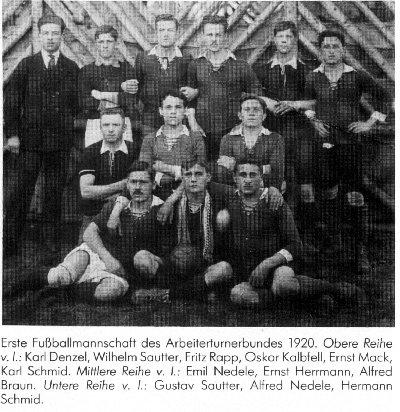 1906 Arbeiterturnerbund Betzingen