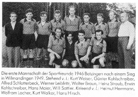 1946 Sportverein Betzingen