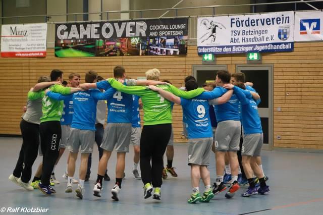 Männer 1: Solide Leistung lässt den TSV Betzingen vom ersten Tabellenplatz grüßen