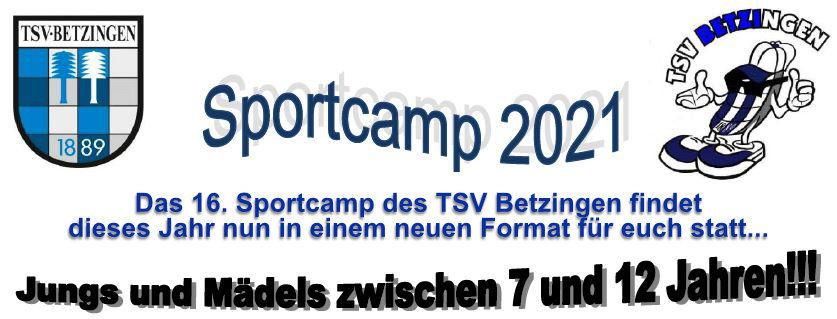 Das SPORTCAMP 2021 findet ein neues Format